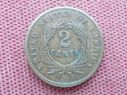 ETATS UNIS Monnaie De Two Cent 1864 Superbe état - Federal Issues