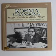 LP/ Kosma Chansons. Prévert - Queneau - Aragon - Desnos / Jean-Christophe Benoit, Bernard Ringeissen - Autres - Musique Française