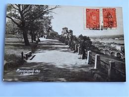 C.P.A. : BIELORUSSIE, BELARUS : MINSK, Sad Gorky, 2 Stamps 1931 - Cartes Postales