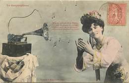 Themes Div-ref Z306- Instruments De Musique - Phono - Phonographe -theme Phonos -phonographes -graphophone- - Musique Et Musiciens