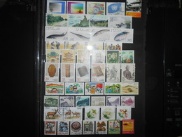 Collection , Chine 50 Timbres Oblitere - Timbres