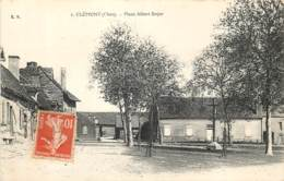 18 - CLEMONT - Place Albert Boyer En 1915 - Clémont