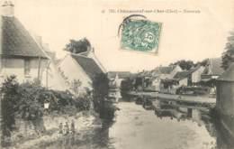 18 - CHATEAUNEUF SUR CHER - Navreau En 1907 - Chateauneuf Sur Cher