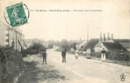 18 - SAINT ELOY DE GY - Bourneuf, Route De St Eloy 1909 - France
