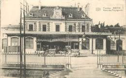 19 - BRIVE - Gare Des Voyageurs En 1915 - Poilu Paul Frezzit ? Pour Mr De Lestable à Chenon (Dordogne) - Brive La Gaillarde