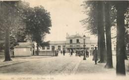 22 - GUINGAMP - La Gare En 1917 - Poilu Blessé A Theberge WW1 Guerre 14/18 - Guingamp