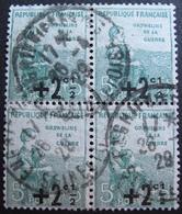 R1680/227 - 1922 - AU PROFIT DES ORPHELINS DE LA GUERRE - BLOC N°163 - CàD - Frankreich