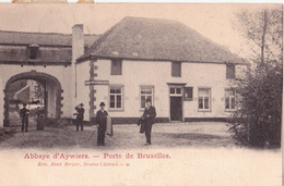 Lasne: Abbaye D' Aywiers--Porte De Bruxelles. - Lasne