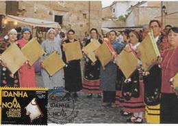 CARTE MAXIMUM - MAXICARD - MAXIMUM KARTEN - MAXIMUM CARD - PORTUGAL - ADUFE - VILLES CRÉATIF DE L'UNESCO - IDANHA-A-NOVA - Musique