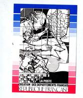 Carte Gravure Du Poinçon  Departement - Documentos Del Correo
