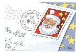 N 7 - NOËL -  CARTE PHILAPOSTEL - PERE NOËL 2012 - Noël