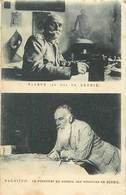 Themes Div-ref Z304-guerre 1914-18- Personnages -royauté -pierre 1er Roi De Serbie Et Pachitch President Du Conseil  - - Serbie