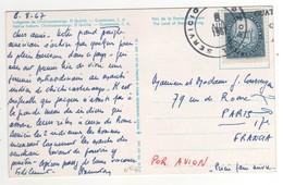 Beau Timbre , Stamp , Sur Cp , Carte , Postcard  Du 08/08/1967. - Guatemala