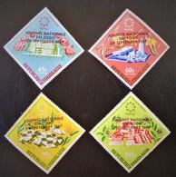 SURCHARGES NOIRES 1968 - NEUFS ** - YT PA 88/91 - Togo (1960-...)