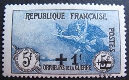 R1680/229 - 1922 - AU PROFIT DES ORPHELINS DE LA GUERRE - BLOC N°169 NEUF*/(*) - Cote : 170,00 € - France