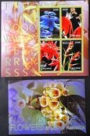 Guyana 2004** Mi. Klb.7757-60 + Bl.787. Flowers Of South America MNH [8.97][12;222] - Pflanzen Und Botanik