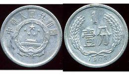 CHINE 1  Fen 1977 - Chine
