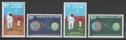 Côte D'Ivoire - YT 529-532 ** - 1980 - Côte D'Ivoire (1960-...)