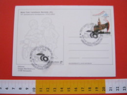 A.04 ITALIA ANNULLO - 2003 CASTELLAZZO BORMIDA ALESSANDRIA 70 ANNI FONDAZIONE MOTO CLUB MOTOCICLISMO - Motorbikes