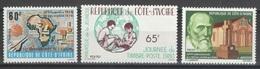 Côte D'Ivoire - YT 534-536 ** - 1980 - Côte D'Ivoire (1960-...)