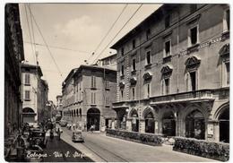 BOLOGNA - VIA S. STEFANO - 1957 - Annullo A Targhetta - Storia Postale - Vedi Retro - AUTOMOBILI - CARS - Ravenna
