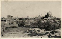 Iran Persia, ISPAHAN, Panorama Shah & Sheikh Lotfollah Mosques, Islam 1930s RPPC - Iran