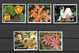 Fujeira 1972 Flowers MNH (D0726) - Plants