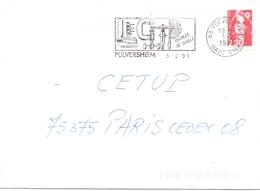 FRANCE  PULVERSHEIM CHARLES DE GAULE 1991  (DICE1800050) - Errors & Oddities