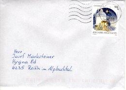 """Brief Von 4000 Allhaming Mit 80 Cent 200 Jahre """" Stille Nacht"""" 2018 - 1945-.... 2. Republik"""