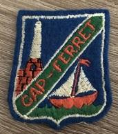 ECUSSON LE CAP FERRET   PAYSAGE  GIRONDE - Blazoenen (textiel)