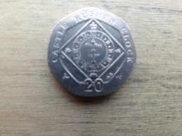 Ile De Man 20  Pence  2009  Km 1257 - Monnaies Régionales