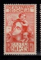 YV 428 N* Enfants De Chomeurs Cote 2,50 Euros - Nuovi