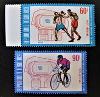 STADE OMNISPORT DE LOME 1969 - NEUFS ** - YT PA 107/08 - MI 699A/00A - Togo (1960-...)