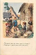 Themes Div-ref Z291- Illustrateurs - Illustrateur Poulbot - Enfants   - Carte Bon Etat  - - Poulbot, F.