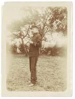 Photo Guerre 14 / 18 - Soldat Barbu Debout, Gradé - Guerre, Militaire