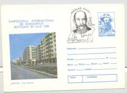 FAMOUS PEOPLE, NICOLAE IORGA, WRITER, POSTMARK ON COVER STATIONERY, ENTIER POSTAL, 1990, ROMANIA - Escritores