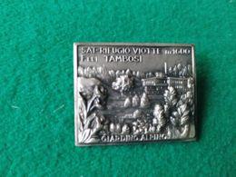 Spilla Sat Rifugio Viotte 1600 M. F.lli Tambosi - Italia