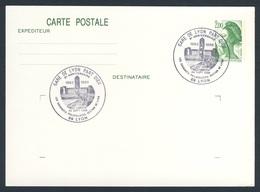 France Rep. Française 1988 Card / Karte / Carte Postale - Gare Lyon Part Dieu, Lyon 1983-1988 / Railway Station /Bahnhof - Treinen