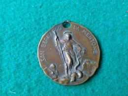 Medaglia San Bernardo Da Mentone - Italia