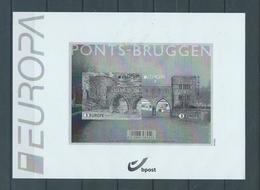 Belgique Feuillet N/B 2018 Ponts Neufs - Zwarte/witte Blaadjes