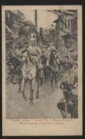 SERBIA-(Macedonia)-King Petar I,ceremonial Entry To Skoplje,1912-POSTCARD-Correspondence Card-(APAT#67) - Yougoslavie