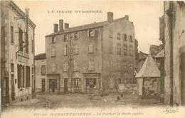 WW 63 SAINT-AMANT-TALLENDE. La Poste Et Le Poids Public Ainsi Que La Pharmacie. Impeccable Et Vierge - Autres Communes