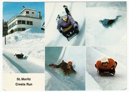 SPORT INVERNALI - BOB - ST. MORITZ - CRESTA RUN - 1973 - Vedi Retro - Winter Sports