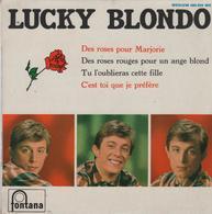 Disque 45 Tours LUCKY BLONDO - 1965 - Vinyles