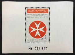 Sovrano Militare Ordine Di Malta SMOM 6 Foglietti 1973 1982 1987 1988 Nuvifr** Cod.FRA.1150 - Malte (Ordre De)
