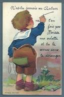 CPA - N'AS-TU JAMAIS VU AUTUN... BAISSE MA CULOTTE - 10 VUES CACHÉES - Illustrators & Photographers