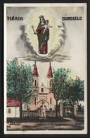 YUGOSLAVIA - Serbia,Vojvodina,Doroslovo (hungarian-Doroszló) Village-Catholic Church Of Virgin Maria, POSTCARD (APAT#59) - Yougoslavie