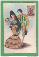 Andalucia Costumi Spagna Spain España Costumes Folklore Rilievo Tessuto Abiti Vestiti Clothes Vêtements - Ricamate