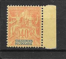 OCEANIE - N° 10 NEUF * - COTE = 125.00 € - Oceania (1892-1958)