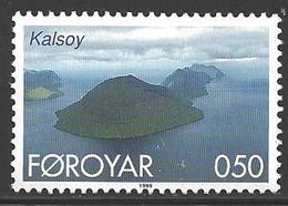1999- 0.50 Ore Kalsoy Mint Never Hinged - Faroe Islands